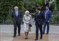 الملكة إليزابيث تستقبل قادة مجموعة السبع