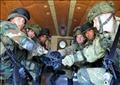 جانب من التدريب المشترك بين القوات الروسية والمصرية