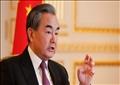 وزير الخارجية الصيني وانج-أرشيفية