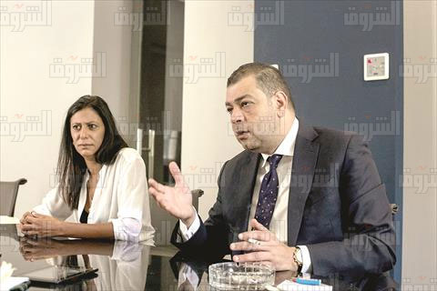امل المصري -هاني شكري شركة جي دبليو تي تصوير روجيه أنيس