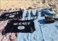 المضبوطات في مكان تواجد الإرهابيين بأسيوط