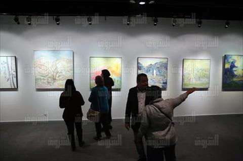 نهال وهبي - معرض تصوير احمد عبد الجواد