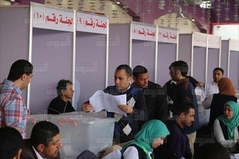 انتخابات نقابة المهندسين - الجيزة تصوير احمد عبد الجواد