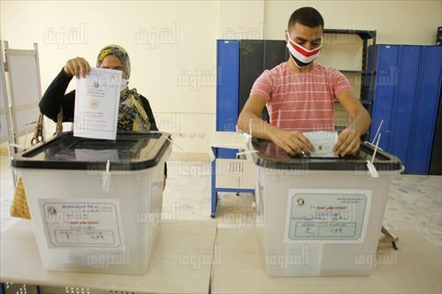 انتخابات الشيوخ 2020 تصوير احمد عبد الفتاح