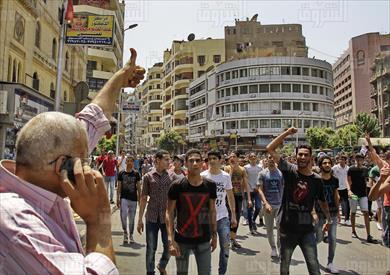 مظاهرات طلاب الثانوية في ميدان التحرير - تصوير: أحمد عبد اللطيف