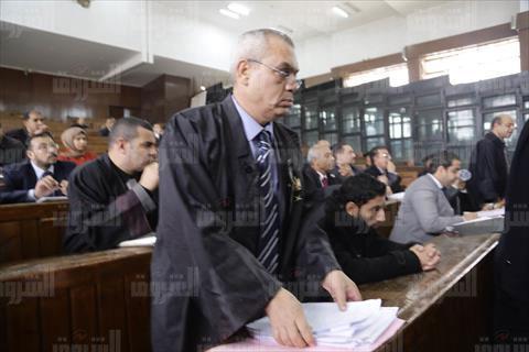 جلسة قضية «اقتحام نادى الزمالك»- تصوير أحمد عبدالجواد