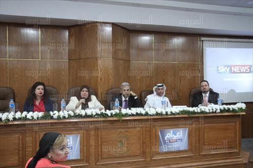 «إعلام القاهرة» تناقش مستقبل الصناعة في احتفالية افتتاح استوديو «جيهان رشتي»