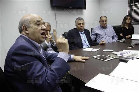 يحيى راشد وزير السياحة ندوة بجريدة الشروق تصوير احمد عبد الفتاح