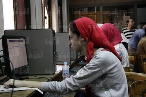 تنسيق الجامعات المرحلة الاولى لطلاب الثانوية العامة تصوير احمد عبد الفتاح