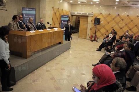 حفل توقيع وندوة «الاختراق الصهيوني للمسيحية» - تصوير: إبراهيم عزت