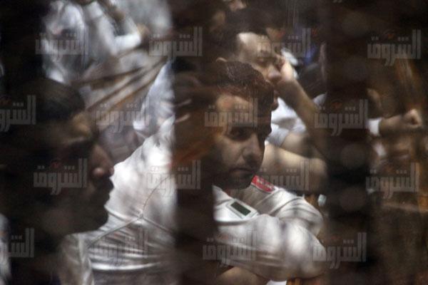 جلسة قضية «مذبحة بورسعيد»- تصوير أحمد عبد الجواد