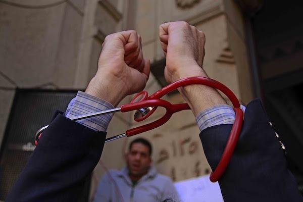 الجمعية العمومية لأطباء مصر - فبراير ٢٠١٦ (تصوير: محمود بكار)