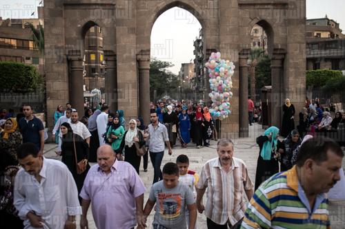 صلاة العيد -  تصوير إبراهيم عزت