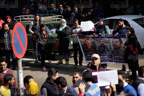 نقابة الأطباء تنظم جمعية عمومية طارئة بعنوان «يوم الكرامة» - تصوير: هبة الخولي