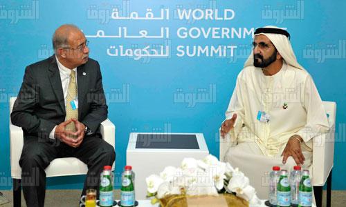 لقاء رئيس الوزراء بولي عهد دبي