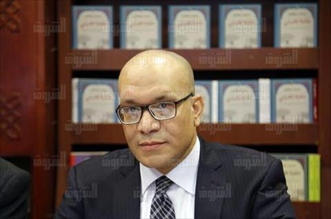 الكاتب والإعلامي محمد موافي- تصوير احمد عبد الجواد