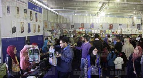 معرض الكتاب 2016 - تصوير: أحمد عبدالفتاح<br/><br/>
