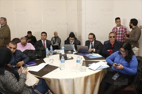 فعاليات مؤتمر «لا لخطاب الكراهية في وسائل الإعلام» لمناهضة العنف ضد اللاجئين والمهاجرين - تصوير: نادر باسم