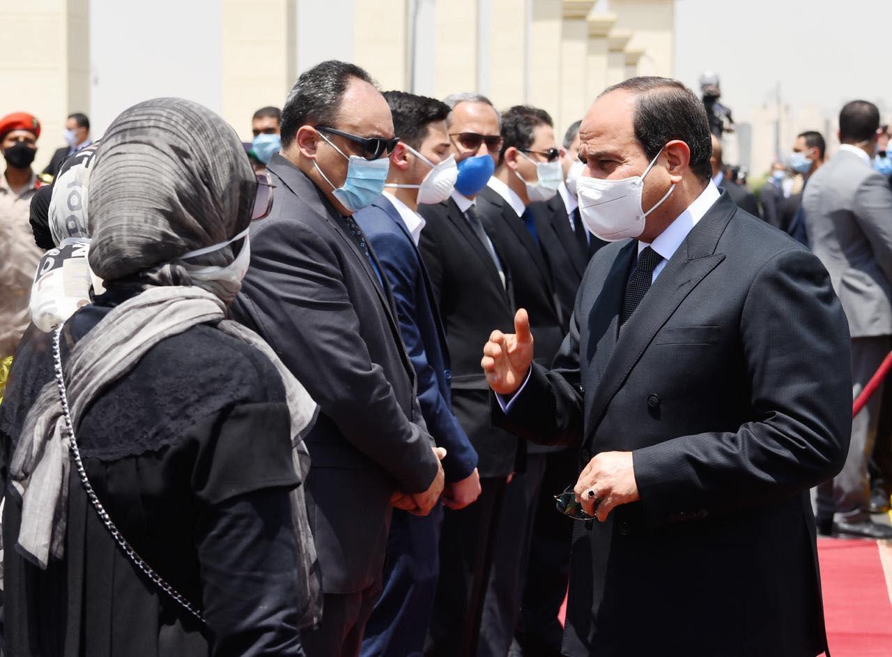 الجنازة العسكرية للفريق محمد سعيد العصار