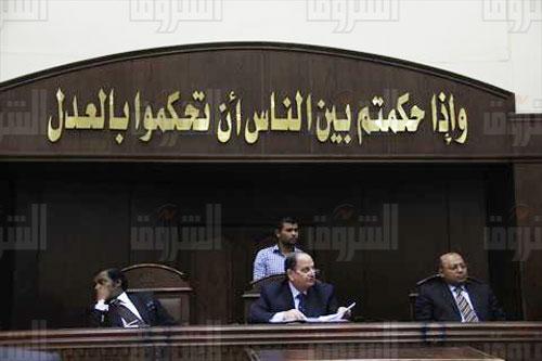 نظر قضية أحمد مصطفى «المستريح»- تصوير: هبة الخولي