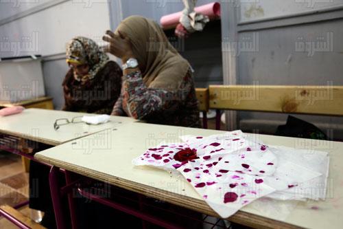 اعادة الجولة الثانية من الانتخابات البرلمانية - تصوير ابراهيم عزت
