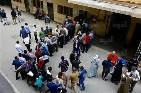 استفتاء تعديل الدستور معهد الصحافة بالإسعاف تصوير إسلام صفوت