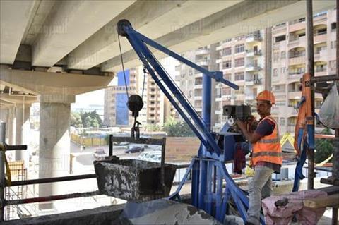 جولة وزير النقل بمحطات المترو الجديدة تصوير- زياد أحمد