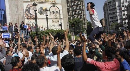 إحالة 25 متهمًا من متظاهري «جمعة الأرض» للجنح