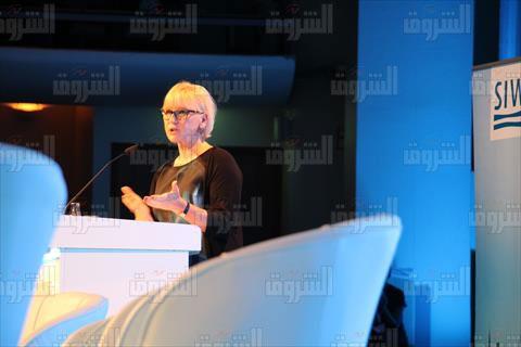 وزيرة الخارجية السويدية - تصوير آية أمان