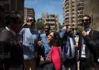 اخلاء سيبل مالك عدلى تصوير ابراهيم عزت