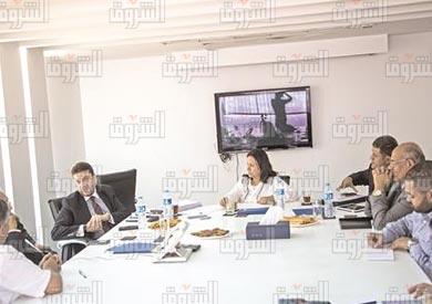 ندوة مناقشة القيمة المضافة-عمرو المنير تصوير ابراهيم عزت