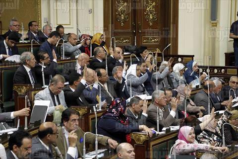 الجلسة العامة لمجلس النواب 26 يونيو 2016 - تصوير: لبنى طارق