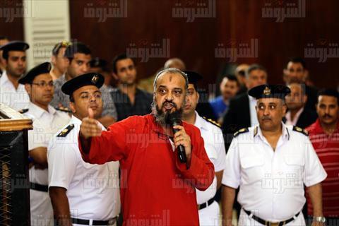 محمد البلتاجي في قضية فض اعتصام رابعة- تصوير هبة الخولى