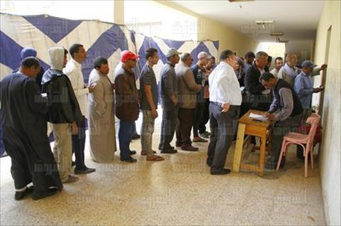 الاستفتاء على الدستور بالشيخ زايد تصوير أحمد عبد الفتاح