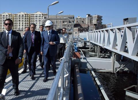 جولة رئيس الوزراء بالاسكندرية شريف اسماعيل