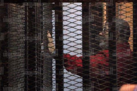 محمد مرسي بالبدلة الحمراء قضية التخابر مع قطر تصوير لبنى طارق