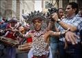 مهرجان الطبول بشارع المعز<br/>تصوير - إسلام صفوت