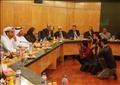 الوفد الاماراتى بنقابة الصحفيين