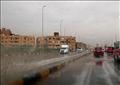 سقوط أمطار غزيرة بمحافظة الجيزة-تصوير مجدي إبراهيم