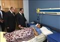 وزير الداخلية يزور مصابى الشرطة