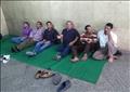 اعتصام مفتوح للعاملين باتحاد العمال للمطالبة بالعلاوة ومنح العيد