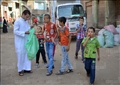 عيد الأضحى بقرية ترسا - تصوير: أحمد عيد