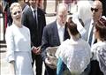 أمير موناكو يعمّد طفليه التوأم