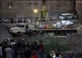 نقل تمثال رمسيس الثانى مع بعض القطع الأثرية من المطرية إلى المتحف المصري بالتحرير - تصوير: أحمد عبدالفتاح