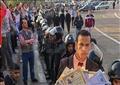 وقفة حملة الماجستير بميدان التحرير- تصوير روجيه أنيس