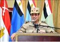 الرئيس السيسي بالزي العسكري في شمال سيناء
