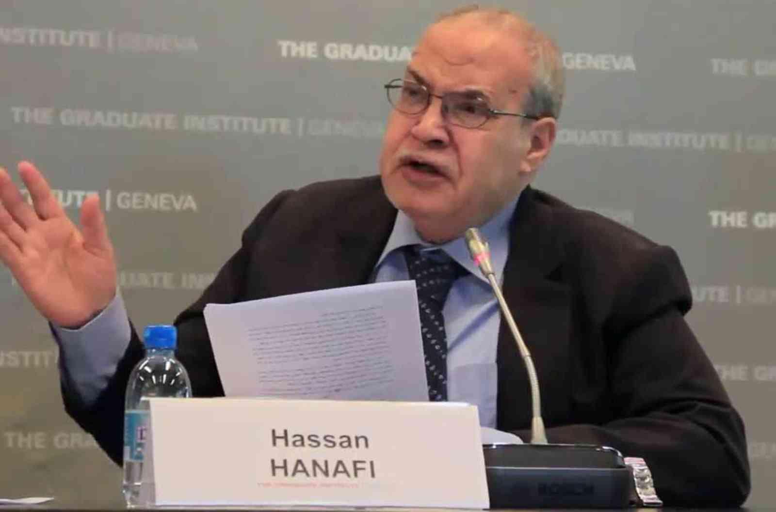 الدكتور حسن حنفي