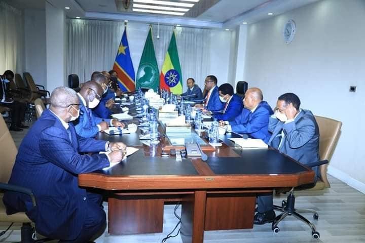 اجتماع وزير الخارجية الإثيوبي و نظيره الكونغولي