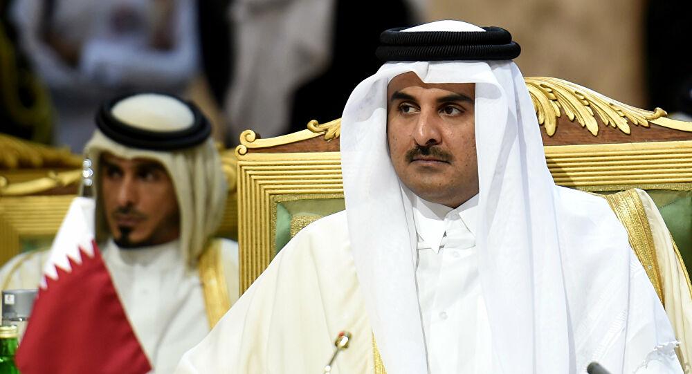 أمير قطر الشيخ تميم بن حمد آل ثان