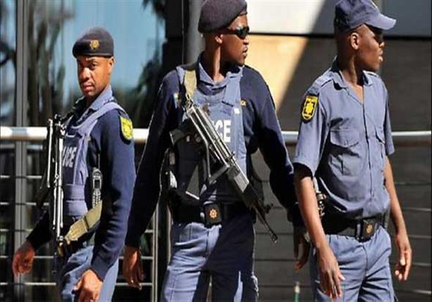 شرطة جنوب إفريقيا